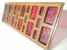 part: ROWE JUKEBOX TI-2:  LOWER DECORATIVE PANEL w/ RED PLASTIC BACKING