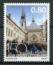 Luxembourg Churches Stamps 2020 MNH Diocese of Luxembourg Architecture 1v Set