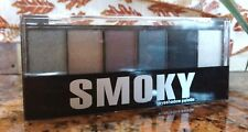 Profusion SMOKY 6 Color Powder Eyeshadow Palette Smoky Eye Applicator SEALED New