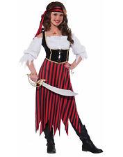 Pirate Maiden Girls Teen Buccaneer Halloween Costume-Teen Girl
