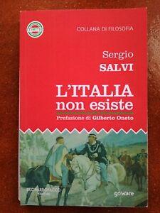 """LIBRO """"L'ITALIA NON ESISTE""""  di Sergio Salvi"""