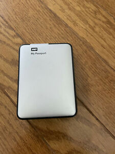 WD My Passport 2TB Portable External USB 3.0 Hard Drive Storage Silver