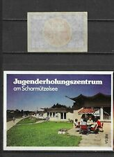 MATCHBOX LABELS- GERMANY. Youth recreation centre packet size label, Riesa