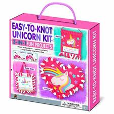 C.S. Kids BS10 Easy-to-knot Unicorn themed 3 in 1 DIY Kit | Tote Bag,