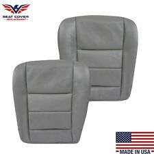 2003 04 05 06 2007 Ford F250 F350 Lariat Leather or Vinyl Seat Cover Flint Gray