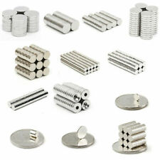1/10/20/50/100 N50 Round Discs Ring Hole Magnets N50 Rare Earth Neodymium Magnet