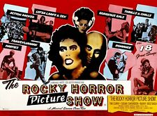 "ROCKY HORROR PICTURE SHOW Rare UK Repro 30""x 40"" quad poster"