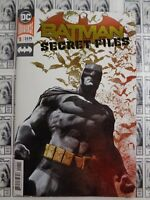 Batman Secret Files (2018) DC - #1, Foil, Bat-Mysteries, King/Janin, NM