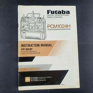 futaba PCM1024H instruction manual - FP-9VHP PCM 9 Channels for Helicopter