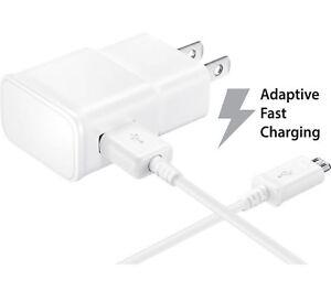 Adaptive Fast Quick Turbo Micro USB Wall Charger for LG Samsung Motorola HTC