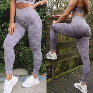 CFR Women Fitness Leggings Push Up Sport Running Yoga Gym Pants Workout Trousers