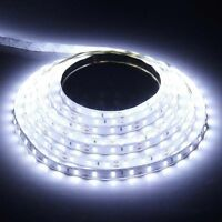 5M 3528 Cool White LED Strip Lights 12V 300Leds Flexible Lights Bright