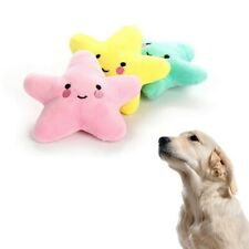 Dog Cat Pet Starfish Toys Plush Puppy Toy Stuffed Pet Teeth Cleaning Vocal Toys