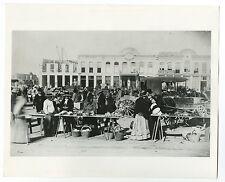 Vintage Street Market, Texas - Vintage 8x10 Photograph