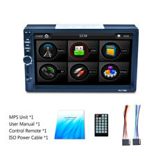 New listing Newest 7 inch 2Din Bluetooth Car Dash Kit Mp5 Player Audio Radio Stereo Rds Dsp