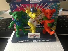 Dancing Bears Grateful Dead Night Limited Figurine Red Sox SGA Fenway Park 4/11