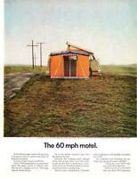 1966 Vintage ad Volkswagen Campmobile VW Camper Cabin Art Man Cave