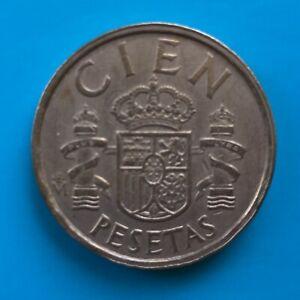 1984 Spanish 100 Cien Pesetas Coins Spain Espana