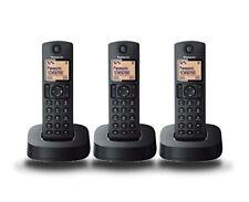 Dect Panasonic Tgc313 Trio negro - Ir-shop