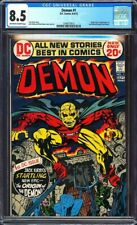 Demon #1 CGC 8.5 Origin & 1st app. of the Demon (Etrigan) & Randu!L@@K!