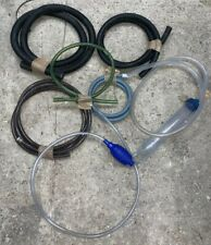 P9 MIXED SET OF 6 HOSE HOSES PIPE PIPES FOR FISH TANK REACTOR OR FILTER OR PUMP