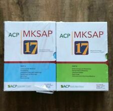 FULL SET MKSAP 17 A, B New AUTHENTIC, Wrapped Brand New