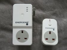 Energenie GSM Power Temperature Socket + Slave SMS 2G 3G SIM Based ENER022-M+S