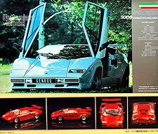 Lamborghini Countach ´88 5000 Quattrovalvole 1985 - 1:24 Kit de Montage Kit