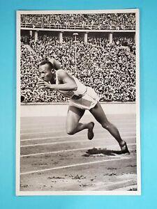 1936 Reemtsma Band II Olympia Jesse Owens USA Track #33 🥇