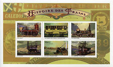 Mali 1996 MNH History of Trains 6v M/S Railways Züge Trenes Treni Chemin de Fer