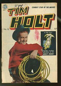 TIM HOLT #16 GOOD 2.0 1950 MAGAZINE ENTERPRISES