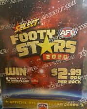 2020 AFL SELECT FOOTY STARS - SEALED BOX (36 packets) - From a Random case