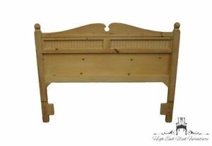STANLEY FURNITURE Chalais Collection Country French Solid White Knotty Pine Q...
