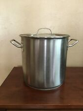 Fissler 10 Quart Stainless Steel Stock Pot High Quality Cooking Pan from Germany