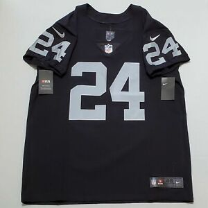 Nike Vapor Elite Marshawn Lynch Las Vegas Oakland Raiders Jersey 851612-015 sz48