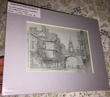 Bertha Gorst - Artwork - The Eastgate Chester - Circa 1920