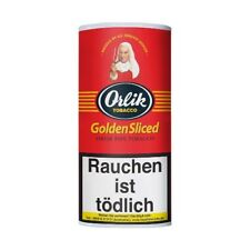 Pfeifentabak Orlik Golden Sliced Flake 50g Pouch  zitrusorange Flakestreifen