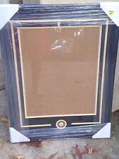 Pittsburgh Steelers 16x20 Frame Kit w/ Team Medallion- New