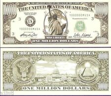 MILLION DOLLARS  BILL BY  NOVELTIES  FANCY COLLECTIBLE THIS IS NOT A NOTE # A
