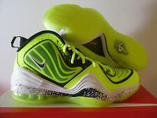 NIKE AIR PENNY V HL HIGHLIGHTER VOLT-BLACK-WHITE SZ 12 [628568-701]