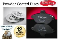 FOR PORSCHE 911 996 3.4 CARRERA S4 1997-2005 REAR DRILLED BRAKE DISC & PADS KIT