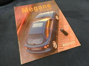 catalogue renault megane coupe 1998 belge