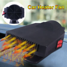 12V 200W Auto Dash Mount & Handy Portable Hot & Cold Car Heater, Fan & Defroster