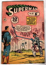 Australian SUPERMAN 92 DC Comics 1950's UK