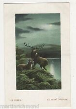 Henry Whitroy, On Guard Art Postcard, B530