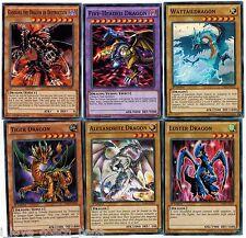 Five-Headed Dragon Fusion set: Tiger + Luster +Alexandrite + Gandora Dragon +Wat
