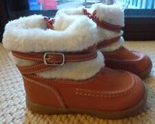 NWT Target Toddler Girls Faux Fur Trim Leather Boots Shoes Size 4 or 5 or 7