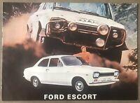 1971 Ford Escort original Costa Rican sales brochure