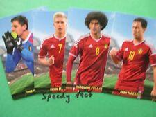 Road to UEFA Euro 2016 Belgien Edition Team Mate Belgien complete 30 Base Cards