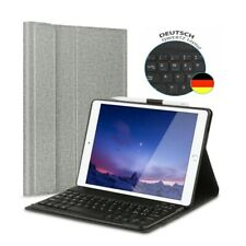 DE DEUTSCHE Tastatur für iPad 10.2 7th gen 2019 QWERTZ Bluetooth Keyboard hülle